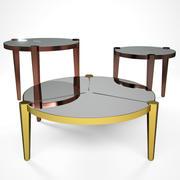 Журнальный столик Fendi Casa Regina 3d model