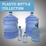 PLASTIC BOTTLE COLLECTION 3d model