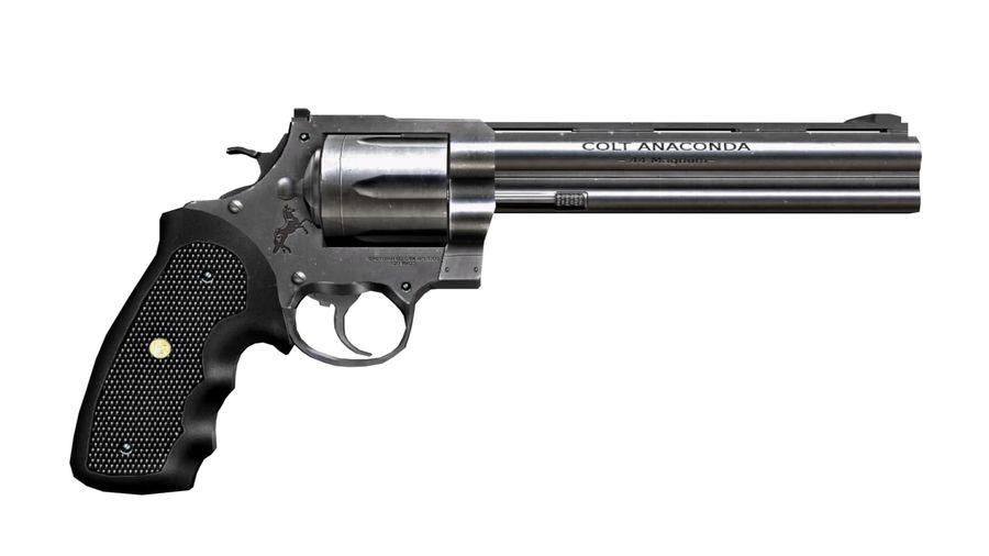Colt Anaconda royalty-free 3d model - Preview no. 8