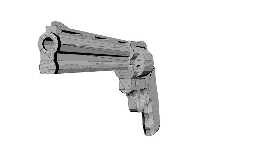 Colt Anaconda royalty-free 3d model - Preview no. 3