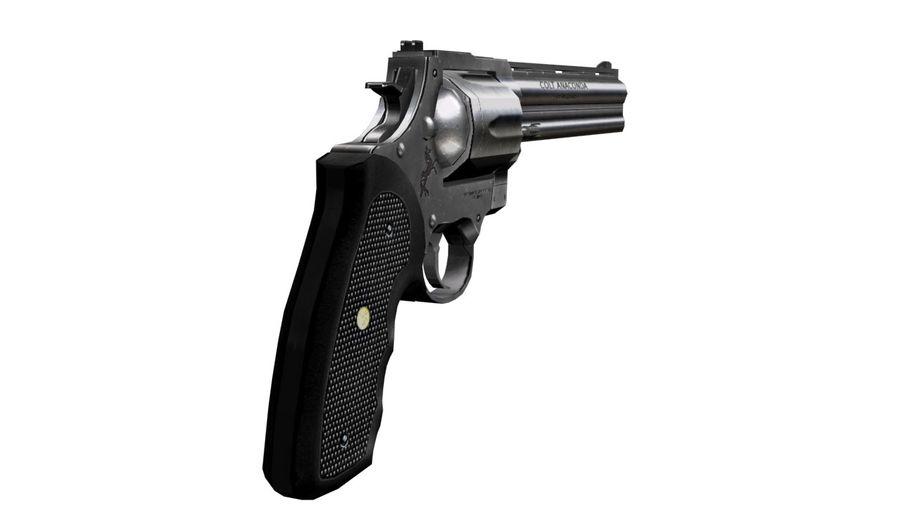 Colt Anaconda royalty-free 3d model - Preview no. 7