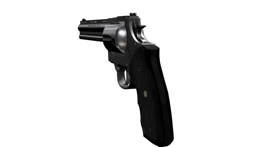 Colt Anaconda royalty-free 3d model - Preview no. 6