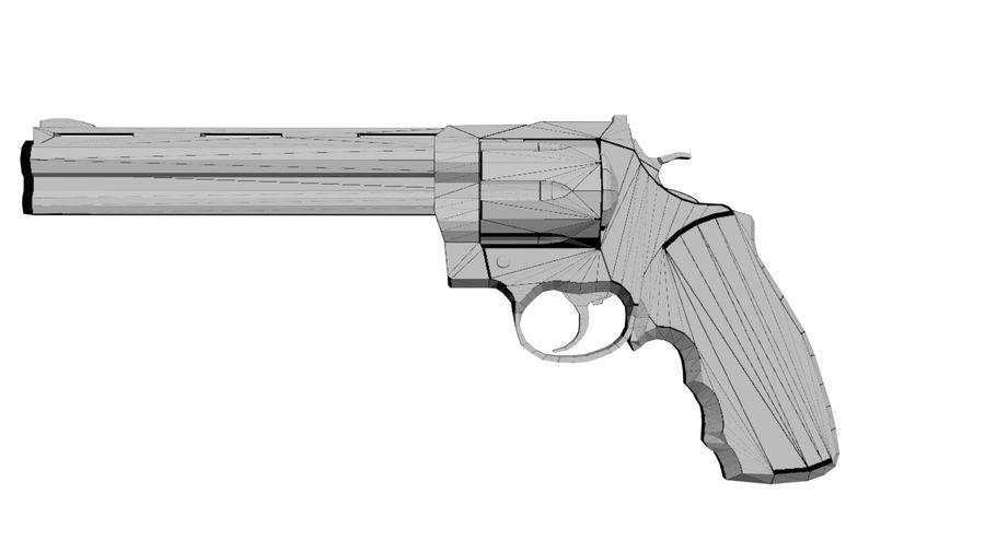 Colt Anaconda royalty-free 3d model - Preview no. 2