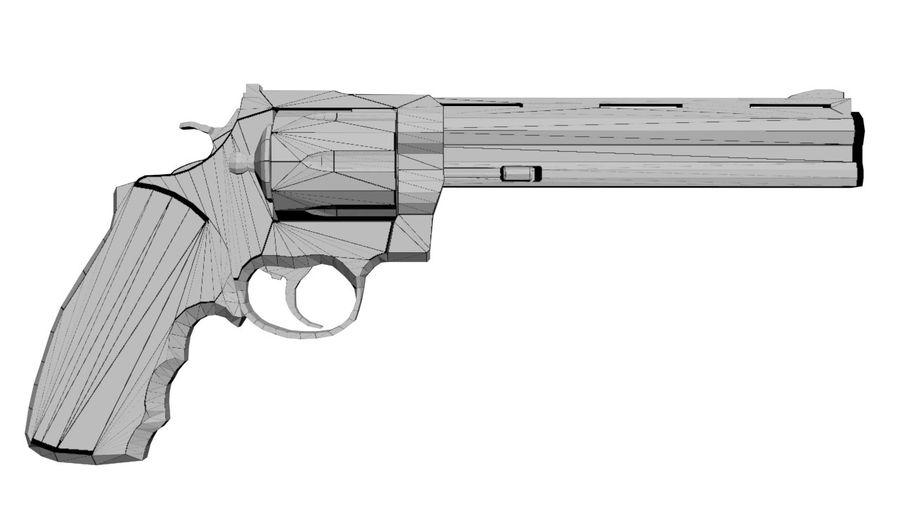 Colt Anaconda royalty-free 3d model - Preview no. 4