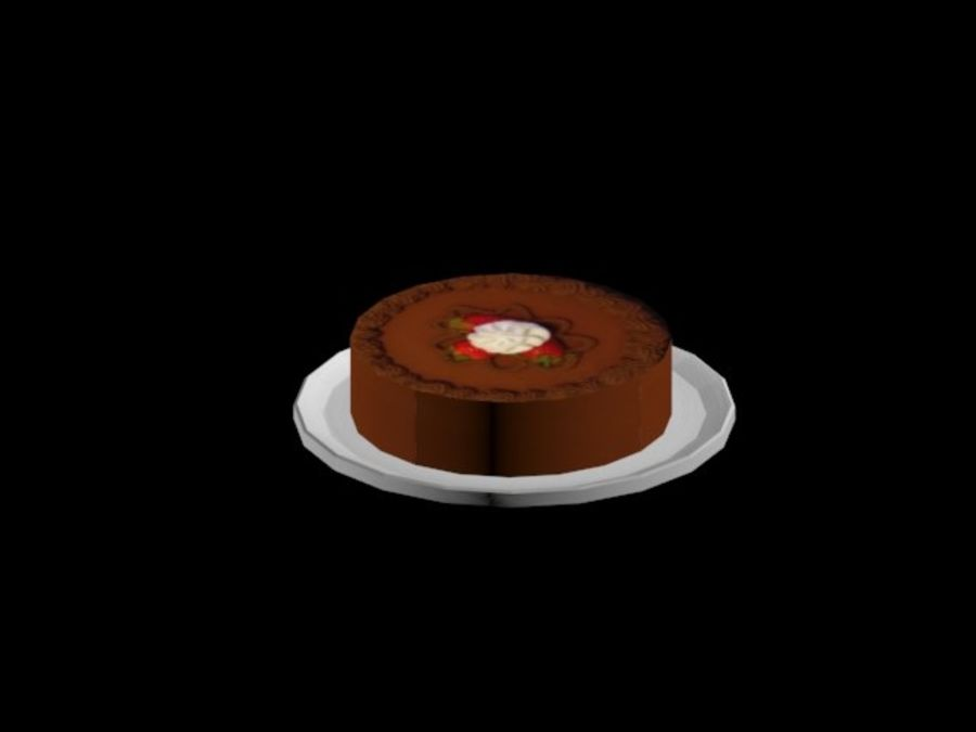 gâteau royalty-free 3d model - Preview no. 1