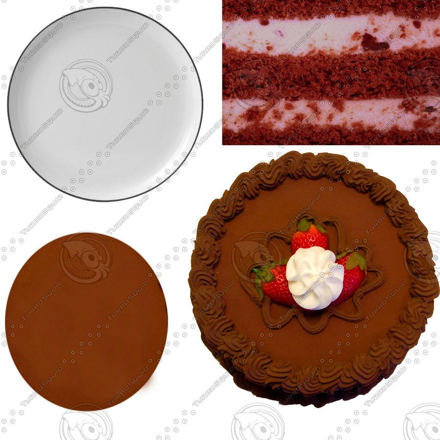 gâteau royalty-free 3d model - Preview no. 2