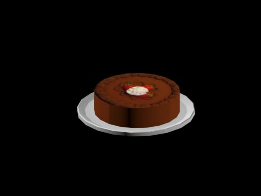 gâteau royalty-free 3d model - Preview no. 5