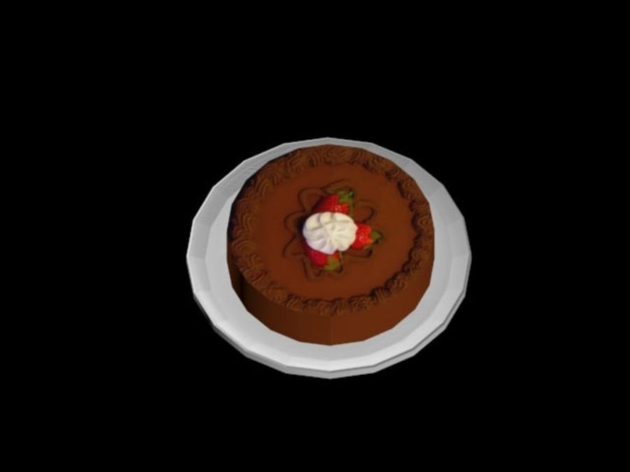 gâteau royalty-free 3d model - Preview no. 6