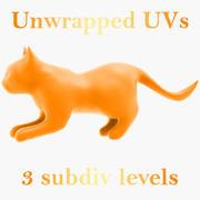 Cat form 3d model