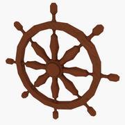 Marine wheel 3d model