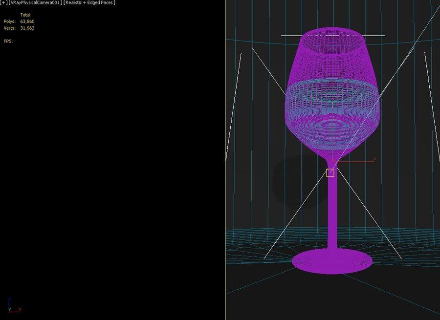 Vino royalty-free 3d model - Preview no. 3