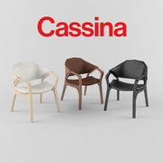 Cassina ico 133 sandalye 3d model