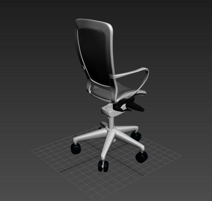 Scène de studio avec des chaises de bureau royalty-free 3d model - Preview no. 6