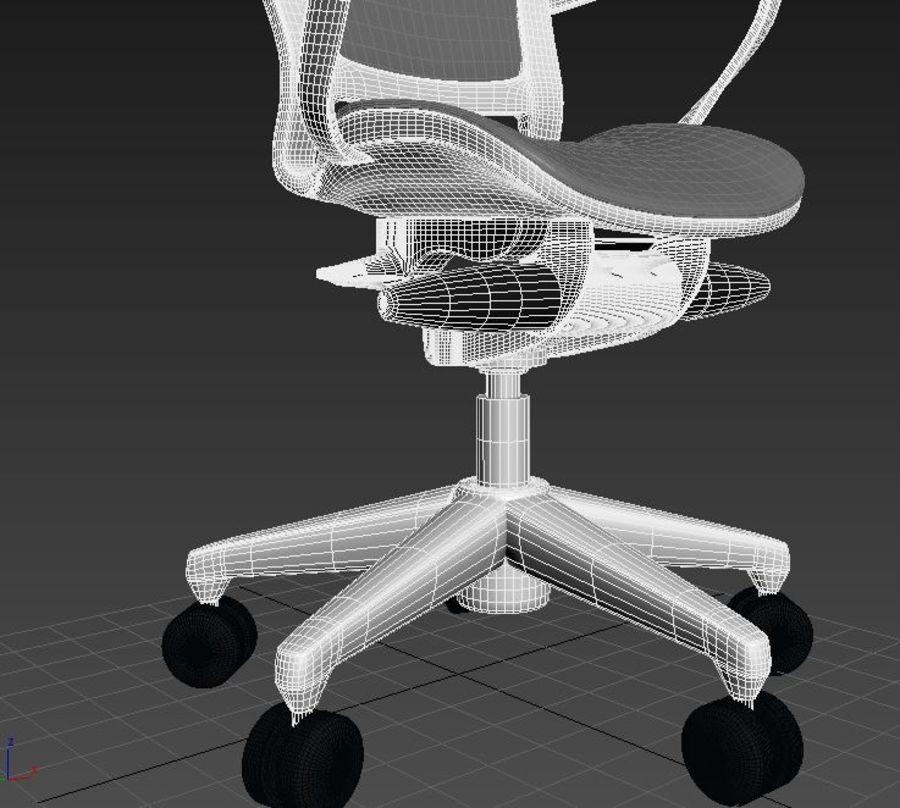 Scène de studio avec des chaises de bureau royalty-free 3d model - Preview no. 5