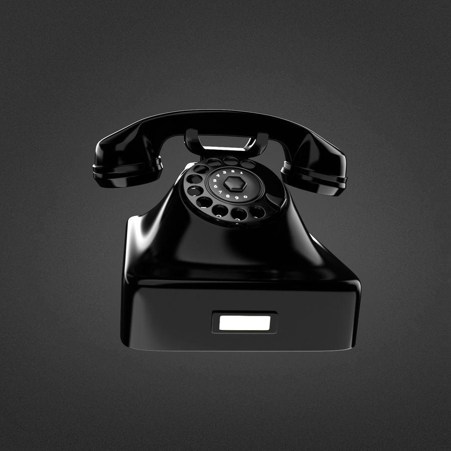 Teléfono rotativo royalty-free modelo 3d - Preview no. 1
