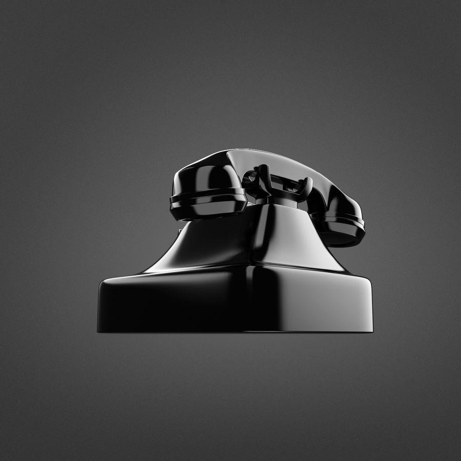 Teléfono rotativo royalty-free modelo 3d - Preview no. 3