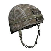 Militär hjälm 3d model
