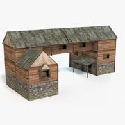 Średniowieczny Dom 3 3d model