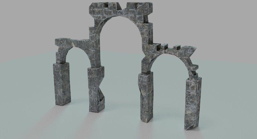 Verpletterde bogen royalty-free 3d model - Preview no. 1