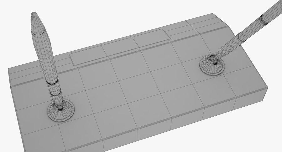 笔筒 royalty-free 3d model - Preview no. 13