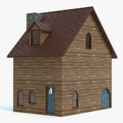 Stylized Fantasy House 3d model