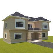 Small villa 3d model