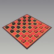 шашки 3d model