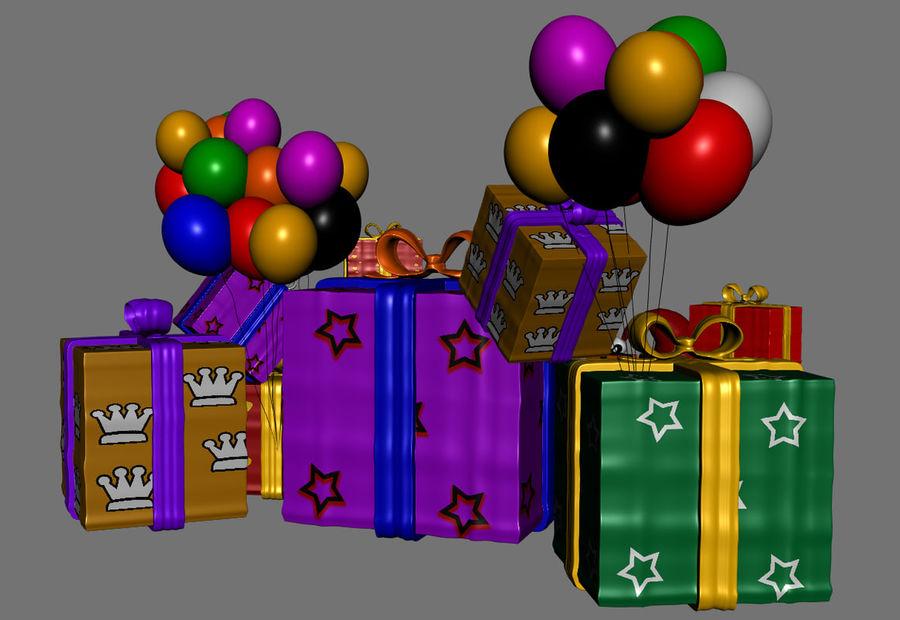 パイルプレゼントギフト royalty-free 3d model - Preview no. 4