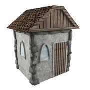 Atout de jeu Low Poly House 3d model
