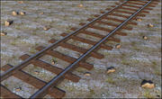 Zug alte Eisenbahn 3d model