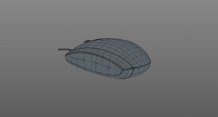 HP Mouse royalty-free 3d model - Preview no. 14