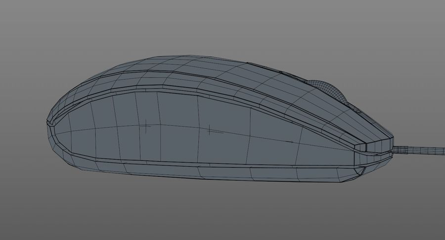 HP Mouse royalty-free 3d model - Preview no. 15