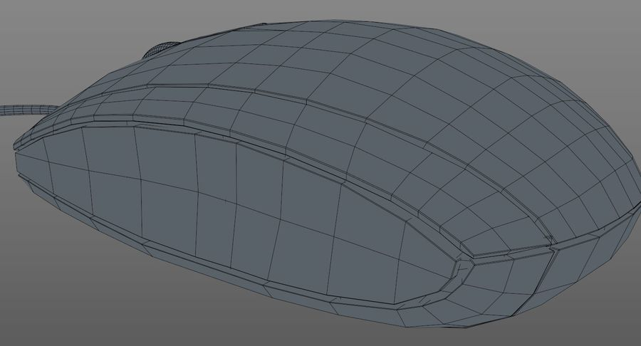 HP Mouse royalty-free 3d model - Preview no. 16