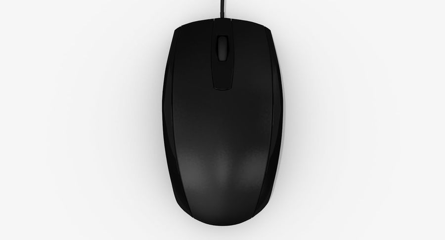 HP Mouse royalty-free 3d model - Preview no. 6