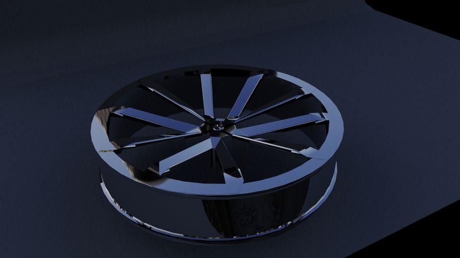 Jantes de voiture royalty-free 3d model - Preview no. 1