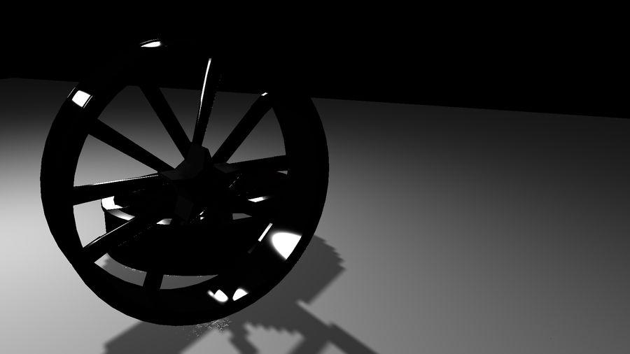 Jantes de voiture royalty-free 3d model - Preview no. 5