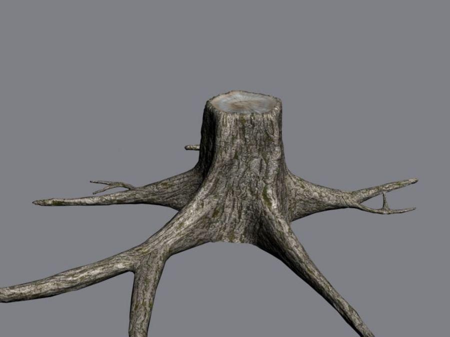 Ağaç kütüğü royalty-free 3d model - Preview no. 6