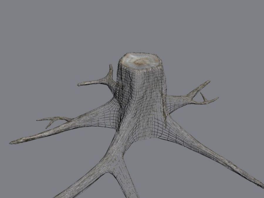 Ağaç kütüğü royalty-free 3d model - Preview no. 9