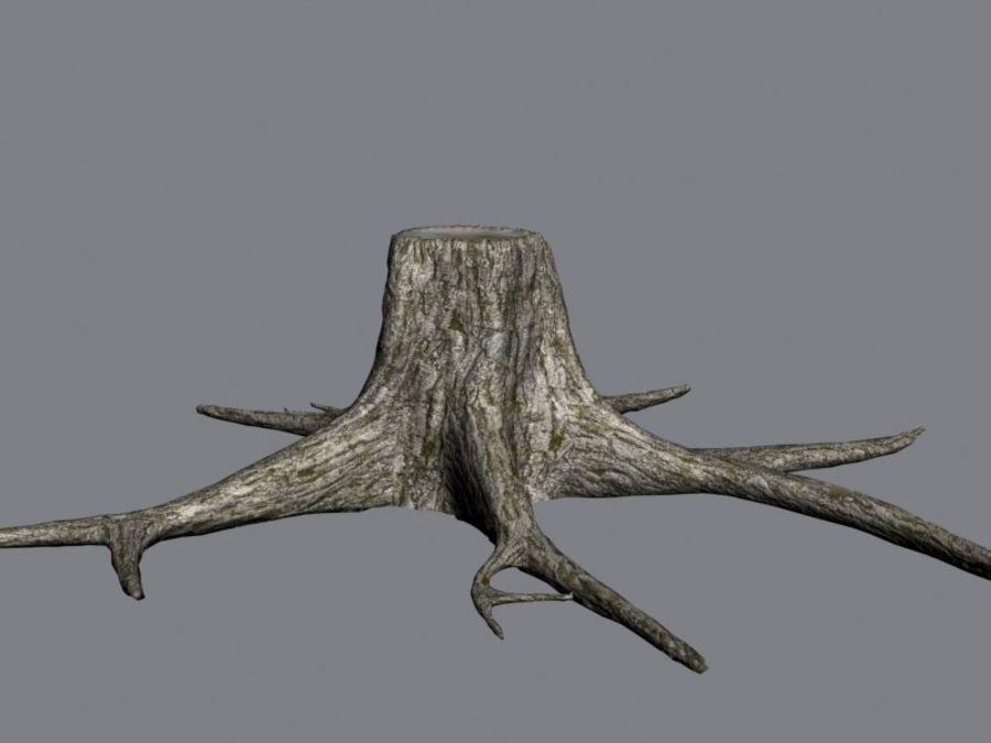 Ağaç kütüğü royalty-free 3d model - Preview no. 4