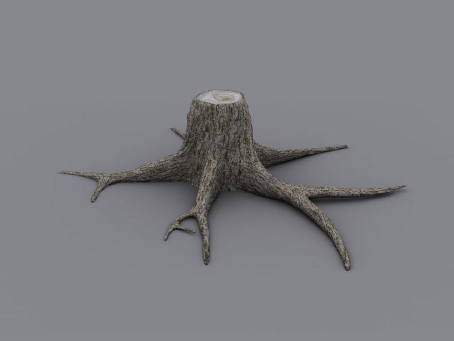 Ağaç kütüğü royalty-free 3d model - Preview no. 7