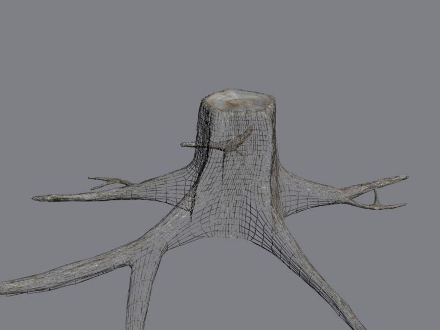 Ağaç kütüğü royalty-free 3d model - Preview no. 8