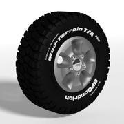 Goodrich Mud Terrain Tire 3d model