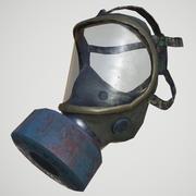 防毒面具(低聚) 3d model