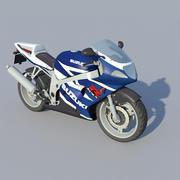 Lowpoly Bike 3d model