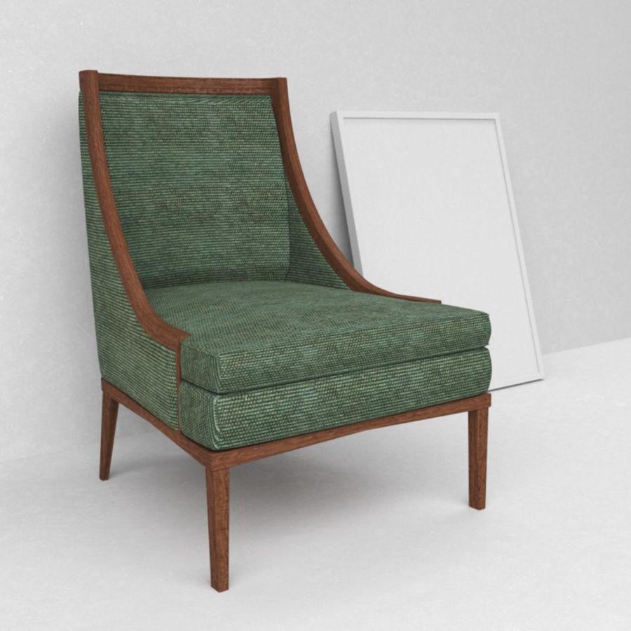 Bernhardt mya koltuk royalty-free 3d model - Preview no. 1