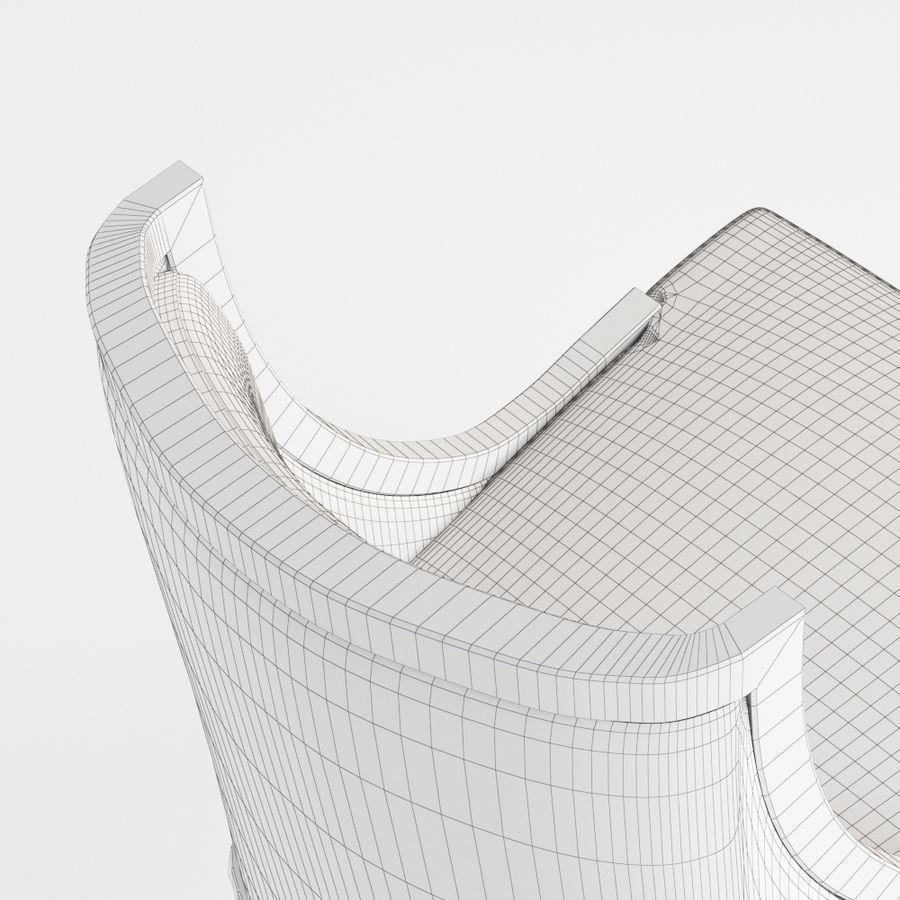Bernhardt mya koltuk royalty-free 3d model - Preview no. 5