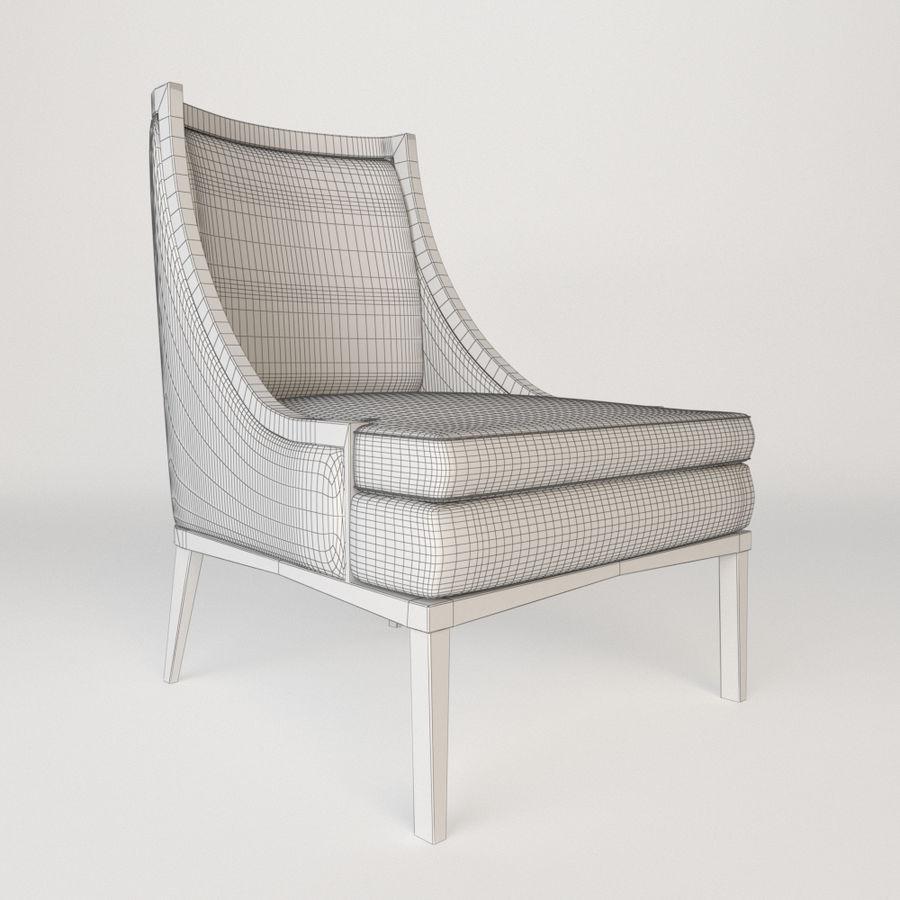 Bernhardt mya koltuk royalty-free 3d model - Preview no. 3