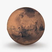 Planeta Mars 3d model