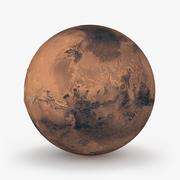 행성 화성 3d model