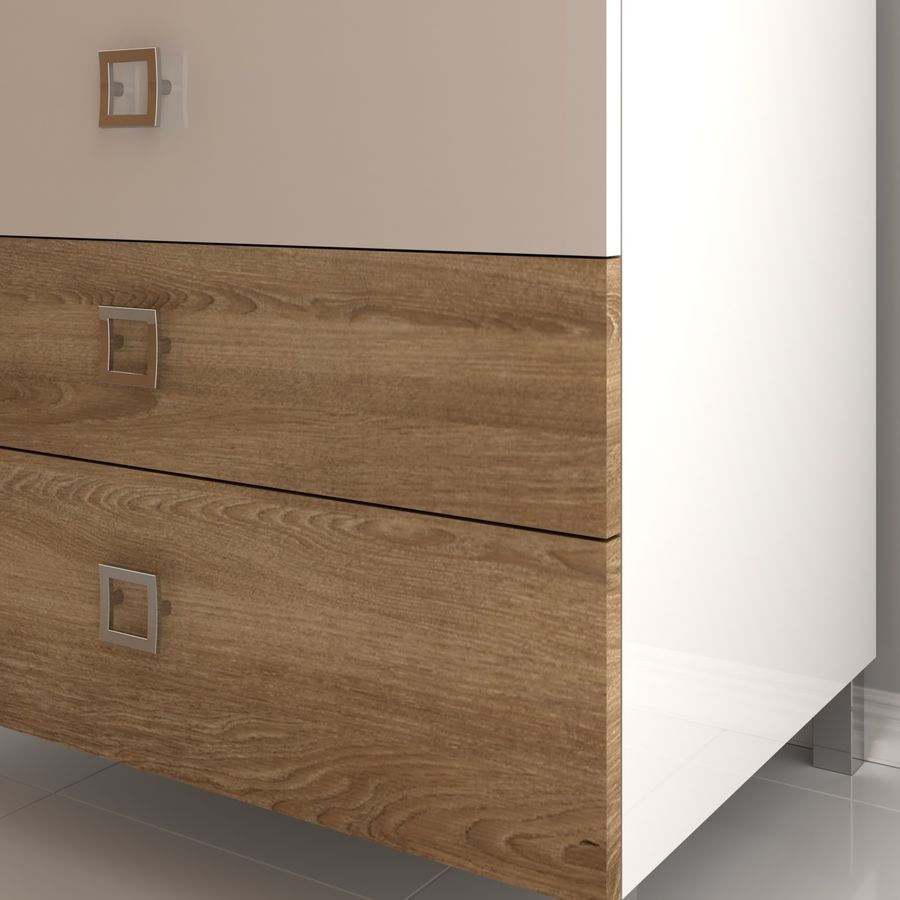 console table royalty-free 3d model - Preview no. 4